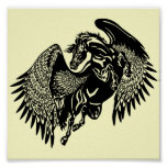 black pegasus poster