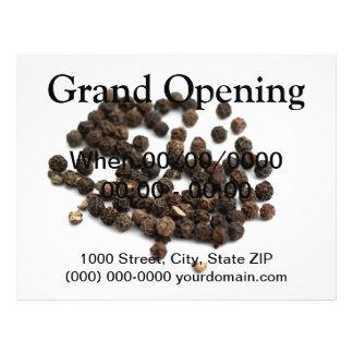 Black Pepper Corns 21.5 Cm X 28 Cm Flyer