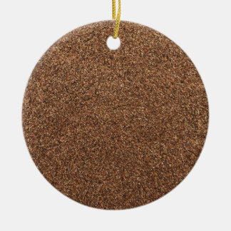 black pepper texture christmas ornament
