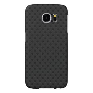 Black Perforated Kevlar Carbon Fiber Samsung Galaxy S6 Cases