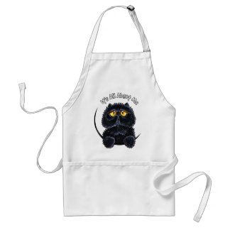 Black Persian Its All About Me Standard Apron