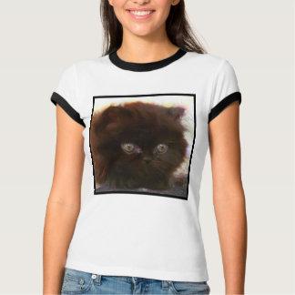 Black Persian Kitten T-shirt