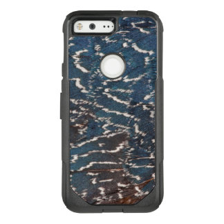 Black Pheasant Feather Abstract OtterBox Commuter Google Pixel Case