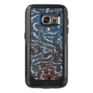 Black Pheasant Feather Abstract OtterBox Samsung Galaxy S7 Case