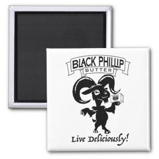 Black Phillip Butter goat magnet