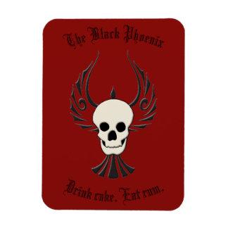 Black Phoenix Magnet