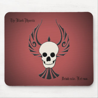 Black Phoenix Mousepad
