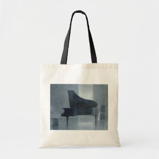 Black piano 2004 tote bag