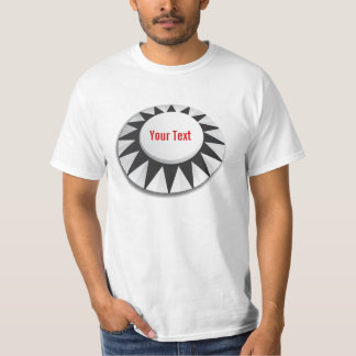 Black Pinball Pop Bumper T-Shirt