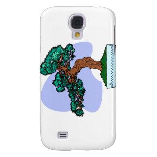 Black Pine Bonsai Graphic Image Galaxy S4 Case