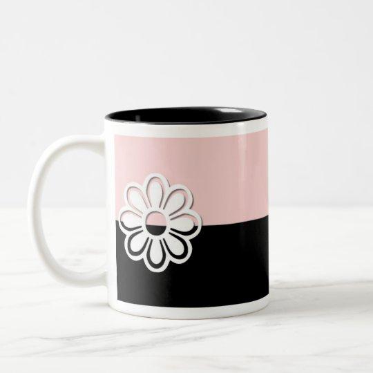 Black & Pink Design 3 Mug