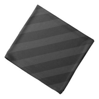 Black Pirate Stripes Bandana