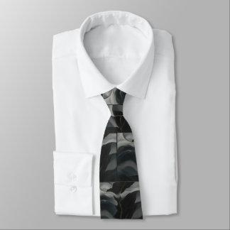 Black Place Tie