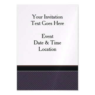 Black Plaid Pattern With Border Magnetic Card