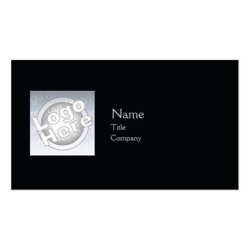 Black Plain - Business Business Card