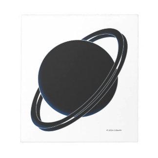 Black Planet Notepad