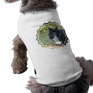 Black Pomeranian  Pet Shirt