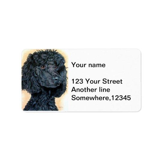 Black Poodle Label