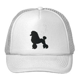 Black Poodle Skirt Shirt Cap