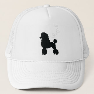 Black Poodle Skirt Shirt Trucker Hat