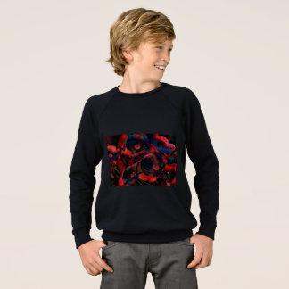 Black Poppies Sweatshirt