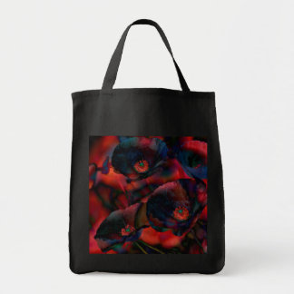 Black Poppies Tote Bag