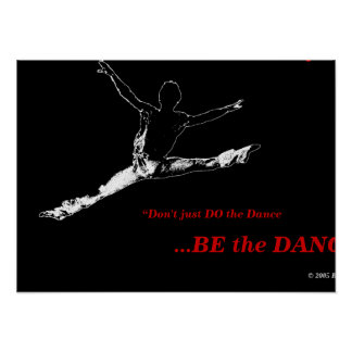 Black Poster ERT Dance Project #1