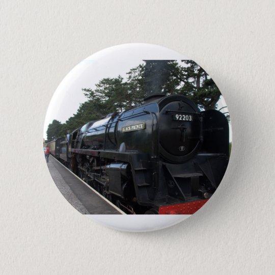 Black Prince 6 Cm Round Badge