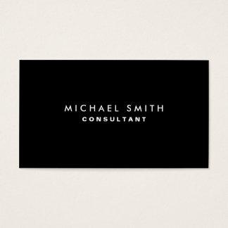 Black Professional Elegant Modern Plain Simple