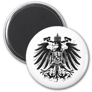 Black Prussian Eagle Magnet