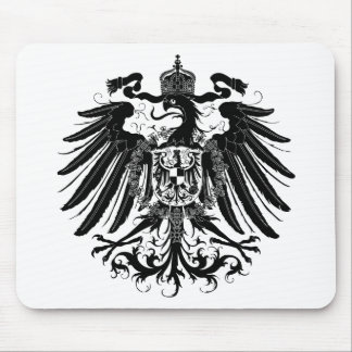 Black Prussian Eagle Mouse Mat