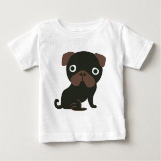 Black Pug Baby T-Shirt