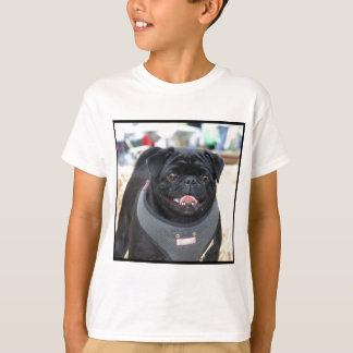 Black Pug Dog T-Shirt