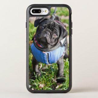 Black Pug Puppy Wearing A Jacket OtterBox Symmetry iPhone 8 Plus/7 Plus Case