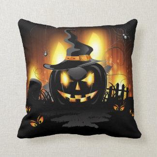 Black Pumpkin Pillow
