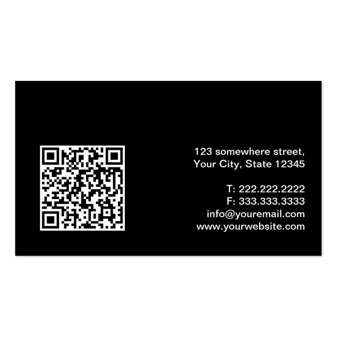 how to get qr code on business card