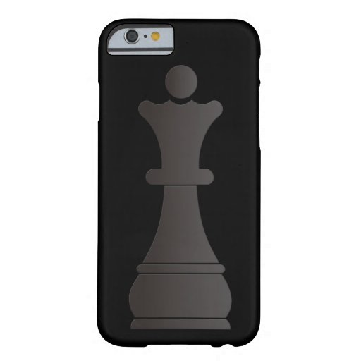 Black queen chess piece iPhone 6 case
