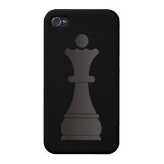 Black queen chess piece iPhone 4/4S case