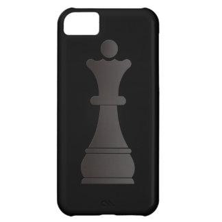 Black queen chess piece iPhone 5C case