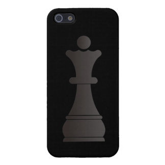 Black queen chess piece case for iPhone 5/5S