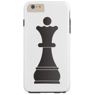 Black queen chess piece tough iPhone 6 plus case