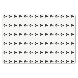Black Question Marks Mystery Gift Tissue Paper