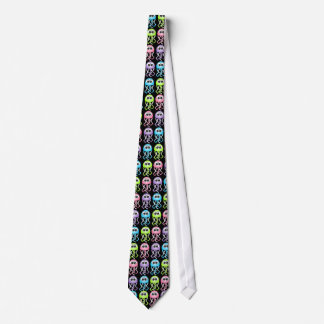 Black Rainbow Jellyfish Tie