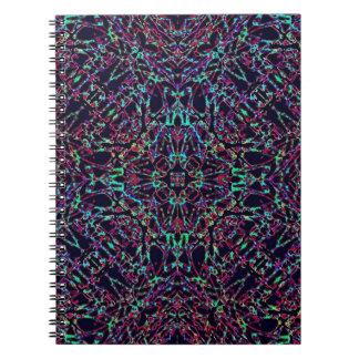 Black Rainbow Notebook