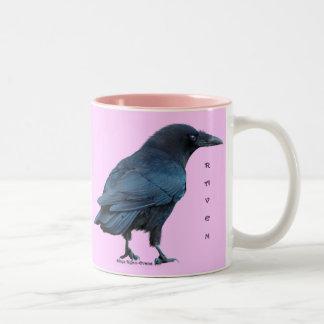 Black Raven Birdlovers Collection III Two-Tone Mug