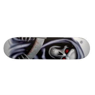 Black reaper 20 cm skateboard deck