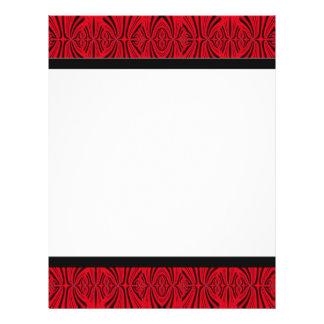 black red 21.5 cm x 28 cm flyer