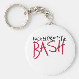 Black/Red Bachelorette Bash Key Chains