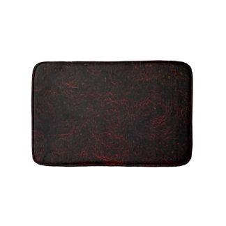 Black & Red Bath Mats