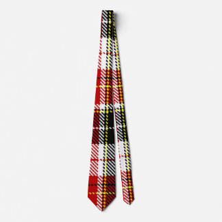 Black+Red checked Tie